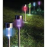 5pcs étanche LED Spotlight solaire MIni Lampe au sol pour Jardin / Pelouse / Cour / Chemin Route / extérieur / éclairage et la décoration Noel Nouvel An Marriage