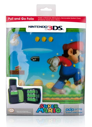 NDSlite, NDSi, N3DS - Super Mario Bros. Pull & Go Folio (Mario Bros Zubehör)