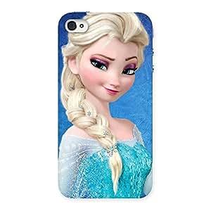 Impressive Wink Freez Princess Back Case Cover for iPhone 4 4s