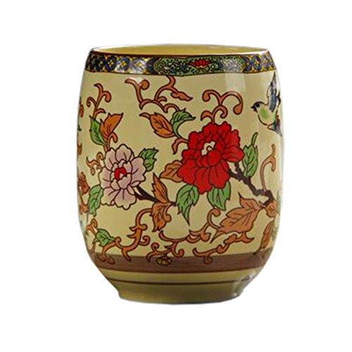 Blancho 2 PCS Tasses à thé en céramique chinoise et japonaise Tasse à bière en tasse à thé Kung Fu Tasse à eau #06