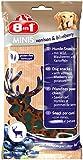 8in1 Minis Mega-Selection Hundesnacks (fettarm, glutenfrei, zuckerfrei, zehn verschiedene Sorten, Huhn Rind Lamm Kaninchen Pute Ente Hirsch Fisch), 1 kg Beutel (10 x 100g) - 22