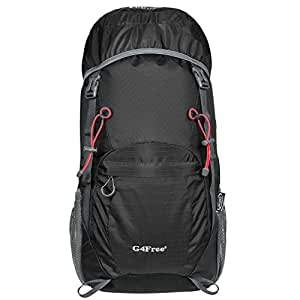 a387c4680f Image Unavailable. Image not available for. Colour  G4Free 40L Ultra  Lightweight Tear   Water Resistant Foldable Travel Hiking Backpack