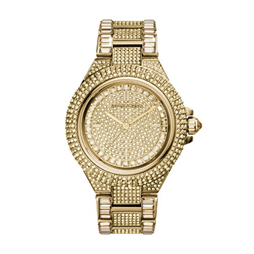 Michael Kors Damen Analog Quarz Smart Watch Armbanduhr mit Edelstahl Armband MK5720