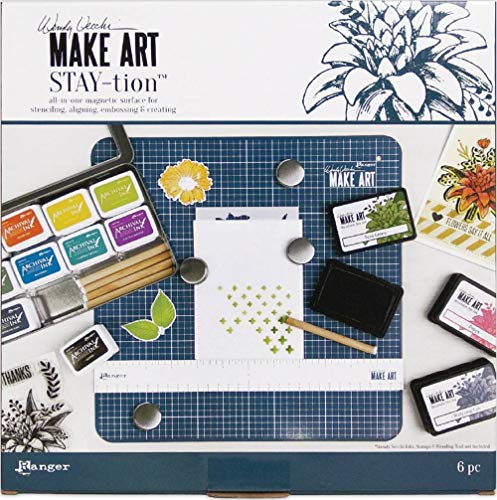 Ranger Wendy Vecchi Make Art Stay-Tion-All-In-One Magnetic Surface