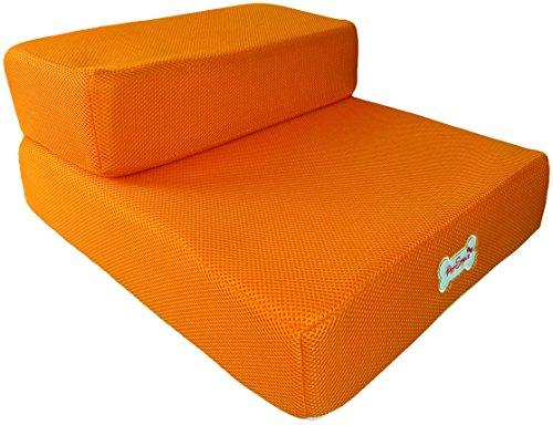 Bild von: Hundetreppen in zwei Größen / bunte Farben (orange)