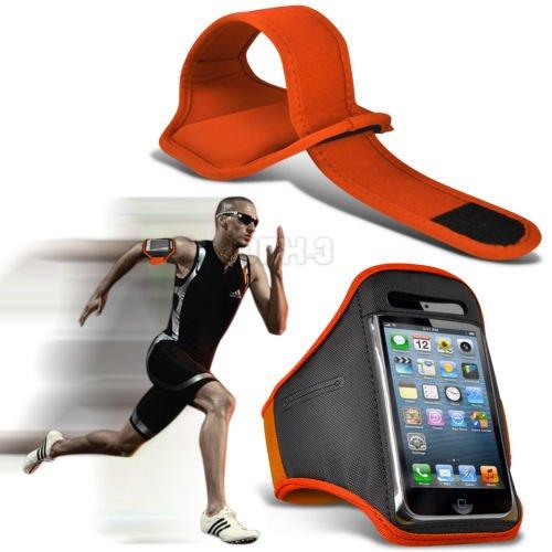 Fonecase HTC One M8 Sport Armbänder mit dem Fahrrad Radfahren Fitnessstudio Joggen abzugewöhnen Armband Case Cover Hot Pink (Htc One M8 Armband Geldbörse)