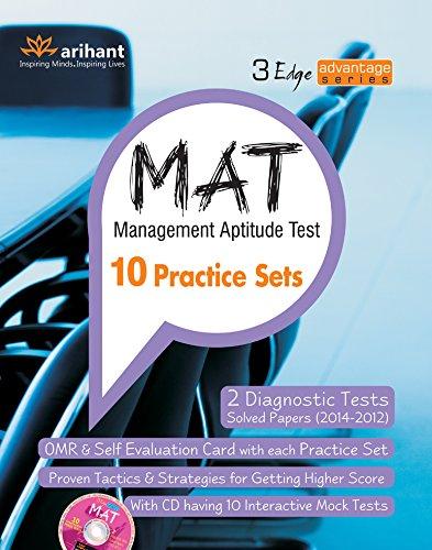The 3 Edge Advantage Series: MAT Practice Sets (Old Edition)