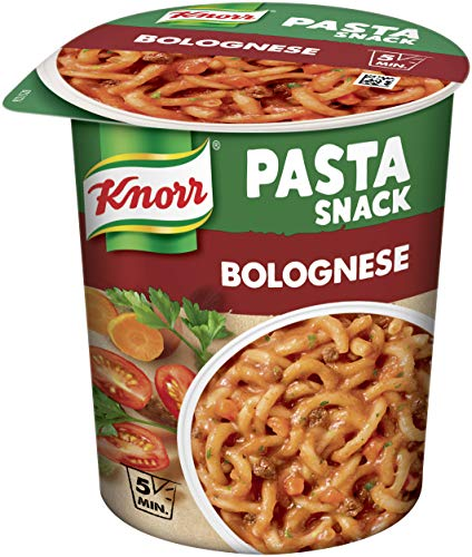 Knorr Pasta Snack Bolognese, 8 x 66 g