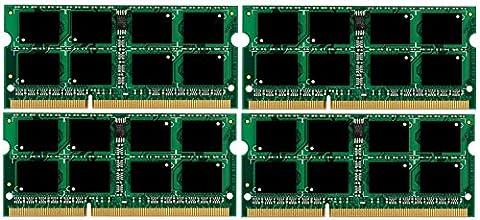 Micron 3rd 32GB Kit (4 x 8 GB) 204 pin DDR3-1866 SO-DIMM (1866Mhz, PC3-14900) passend für Apple iMac Retina 27