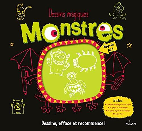 Dessins magiques - Les monstres