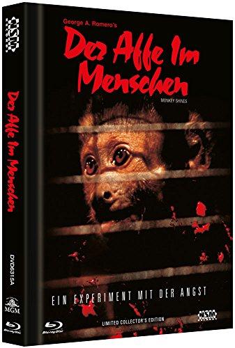 Der Affe im Menschen - uncut (Blu-Ray+DVD) auf 333 limitiertes Mediabook Cover A [Limited Collector's Edition]