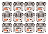 Brennpaste Set - 2,5 h Brenndauer - 12 Dosen