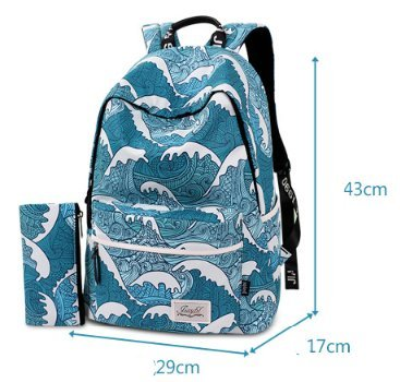 Gro?e kapazit?t leichte schulter tasche, fashion casual female rucksack-A A