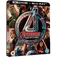 Avengers Age Of Ultron 4K Limited Edition Steelbook / Import / Includes Region Free 2D Blu Ray
