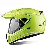 BLOIBFS Motorradhelm Anti-Fog Anzug Für Alle Jahreszeiten Off-Road-Racing-Profi-Einsatz Warmer Winter Vollständige Abdeckung Helm,5-XL