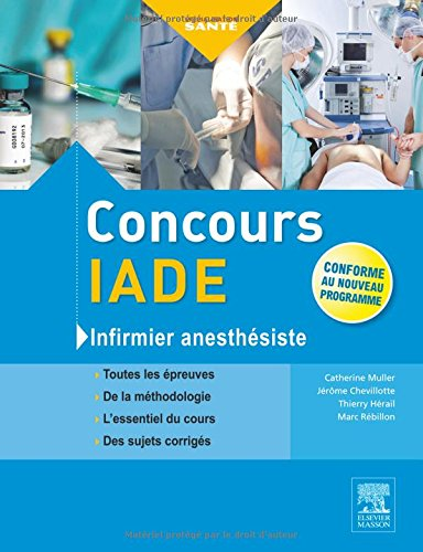 Concours IADE: Infirmier anesthsiste