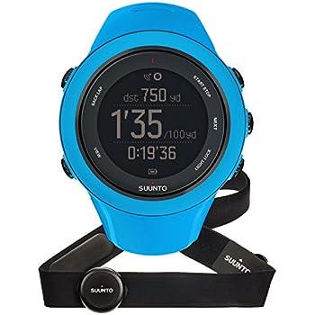 Suunto - Ambit3 Sport HR - SS020679000 - Reloj GPS Multideporte + Cinturón de frecuencia cardiaca