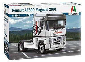 Italeri 3941S 3941S-1:24 Renault AE500 Magnum (2001) - Juego de construcción de maquetas, construcción de Modelos, Manualidades, aficiones, Pegamento, Kit de Montaje de plástico, sin Pintar