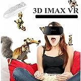 Gafas 3d de realidad virtual, bevifi VR auriculares 3d virtual Viseras con mando a distancia para iOS iPhone 7/7Plus/6/6S/6S Plus, Android Samsung Galaxy S7Edge S7/S6/S5/J7/A5/A32016y otros 4.7–5.5'teléfono móvil