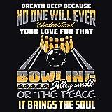 Artland Qualitätsbilder I Poster Kunstdruck Bilder 70x70 cm Statement Bilder Sprüche Texte Digitale Kunst Orange E3XD Inspirierender Spruch für Bowling-Fans Hobby und Sport