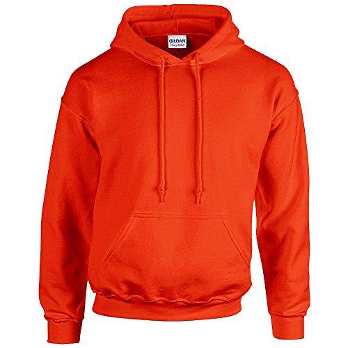 Gildan - Unisex Kapuzenpullover 'Heavy Blend' , Orange, Gr. L