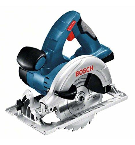 Preisvergleich Produktbild Bosch Professional 060166H00A GKS 18 V-LI Akku-Kreissäge, 2 x 5, 0 Ah Akku, Schnellladegerät, Parallelanschlag, L-Boxx (18V, Schnitttiefe: 51mm (91°); 40mm (45°), Sägeblatt-Ø: 165 mm), 0 W, 18 V