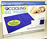 Hello Summer Gel Pillow-Keep Your Ultra Cool at Night, White, 40 X 30cm