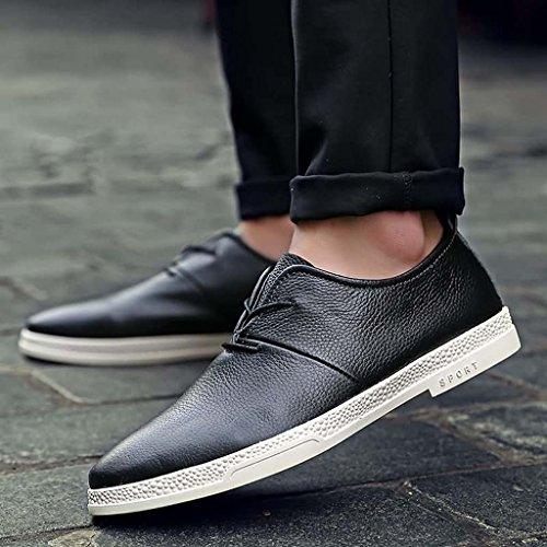 ZXCV Chaussures de plein air Chaussures pour hommes chaussures décontractées solides chaussures de sport en plein air ( Couleur : Bleu , taille : 42 ) Noir
