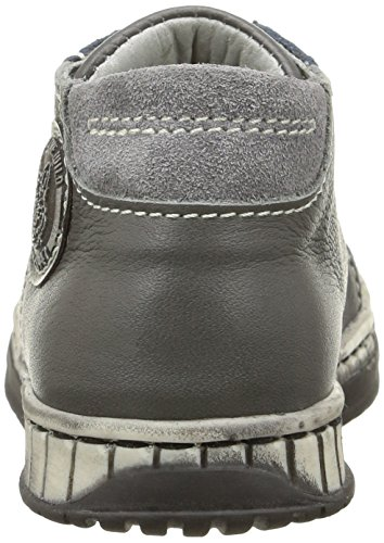 Little Mary Tilou, Chaussures Premiers pas bébé garçon Gris (Nappa Shark)