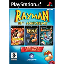 Rayman 10th Anniversary Compilation Pack (PS2) [import anglais]