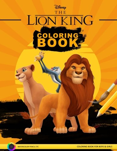 Lion King Coloring Pages: Simba and Friends in Coloring Book