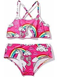 961db392b chicolife bebé niñas Traje de baño Tops sin Mangas con Desgaste de la Playa  de Surf