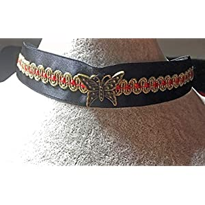 Golden Moth Choker Satin Edition