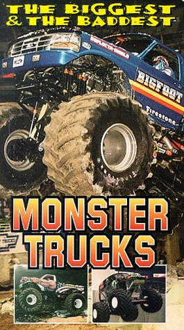 The Biggest & the Baddest Monster Trucks [VHS] - Monster-truck-dvd