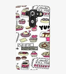 For LG G3 Mini I Could Kill for Desert, White, Desert Pattern, Beautiful Pattern, Printed Designer Back Case Cover By CHAPLOOS