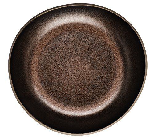 Rosenthal - Junto Bronze - Teller tief - Suppenteller - Steinzeug - 22 cm