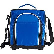 Lunch Bag Style Spalla Tote Borsa per il pranzo Borsa Porta Pranzo Blu