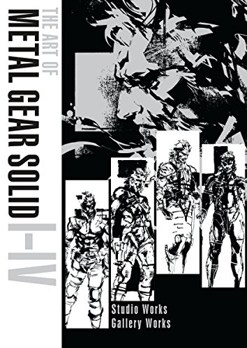 The Art Of Metal Gear Solid I-Iv: 1-4 por Yoji Shinkawa