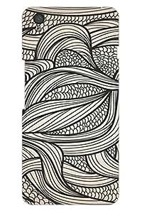 AMAN Vintage Line Design 3D Back Cover for OnePlus X