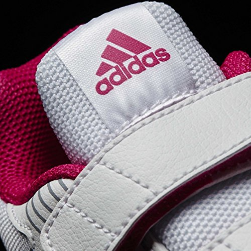 adidas Altarun CF K, Chaussures de Running Fille Pink (Blanc/Rose Vif/Gris Ftwwht/Bopink/Midgre)