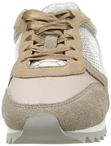 Bunker Snak Mix6, Baskets Basses femme Marron (Taupe)