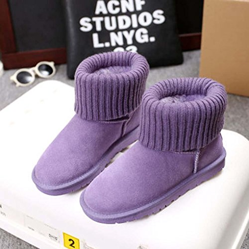 Heart&M Versione coreana del nuovo inverno stivali caldi spessa tempo libero cotone lana signore macchia breve tubo neve stivali a