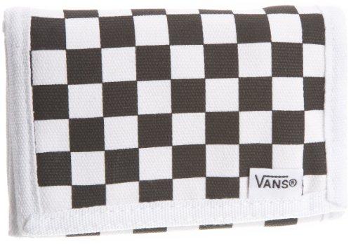 Vans Herren Slipped Geldtasche, Black/White, 8 X 2 X 15 cm