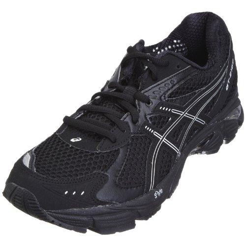 Asics T155N0197, Damen Laufschuhe, Schwarz - Black/Onyx/Lightning - Größe: 36 EU