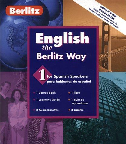 English: Spanish Level 1: The Berlitz Way (Berlitz Basic)