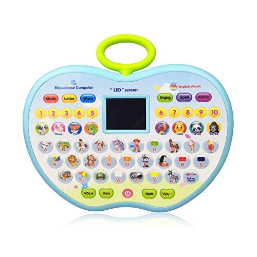 Lernspielzeug für 2 Jahre altes Mädchen, Lernspielzeug für 1-3 Jährige Jungen Kinder Computer Spielzeug für 4 Jahre altes Mädchen Spielzeug Geschenk Alter 1-4 Jungen Kinder Spielzeug für 12-24 Monate Kleinkind Tablet Spielzeug