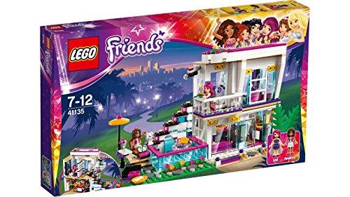 emmas familienhaus lego LEGO Friends 41135 - Livis Popstar-Villa