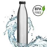 Die besten Thermos die Flasche - 720°DGREE Edelstahl Trinkflasche milkyBottle- 1000ml, 1l | Isolierflasche Bewertungen