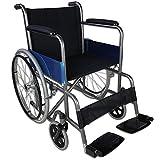 Zusammenfaltbarer Rollstuhl aus Stahl