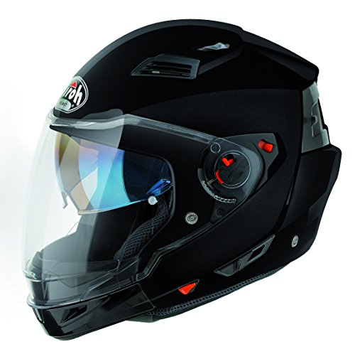 Airoh Moto Casco vorstands, color Negro Metal, talla 54-XS